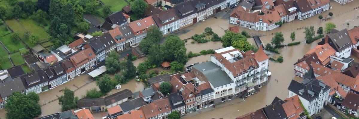 Titelbild - Hochwasserschutz