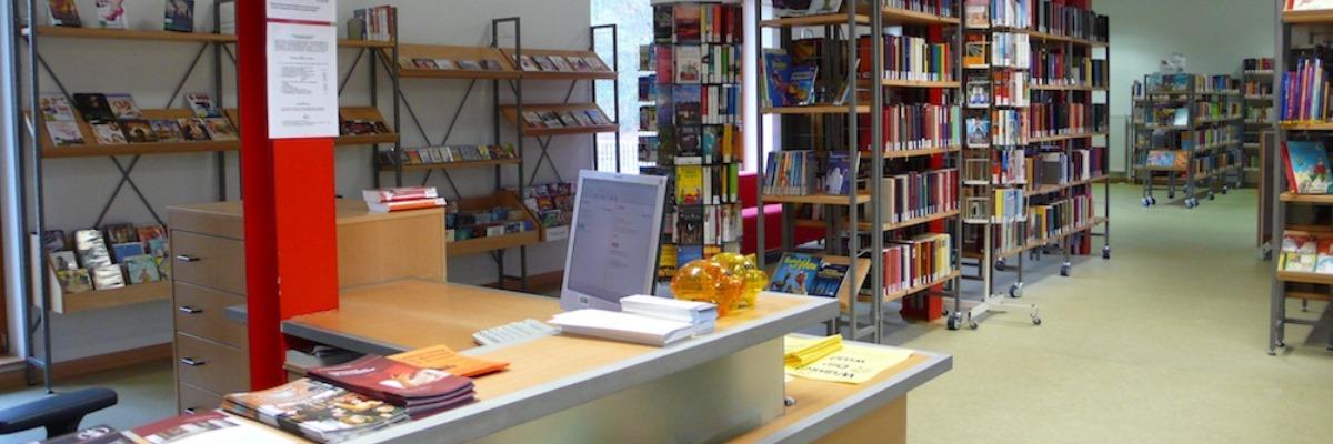 Blick in die Stadtbücherei Bad Salzdetfurth
